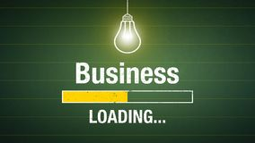 Business loading royalty free stock image