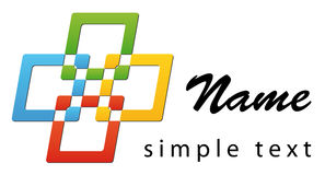 Business logo stock photography