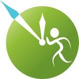 Business logo. Line art logo design of Business Stock Photography