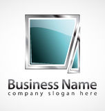 Business logo royalty free stock image