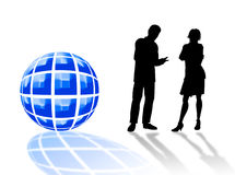 Business logo Royalty Free Stock Photo