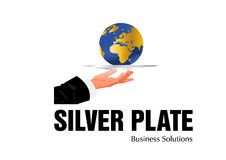 Business Logo Design Royalty Free Stock Photography