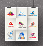 Business Logo Design. Collection of Vector Business Logo Design Set Stock Images