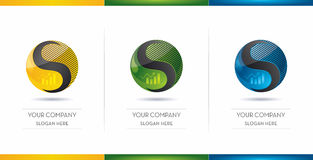 Business logo design Royalty Free Stock Images