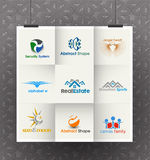 Business Logo Design Set Stock Photo