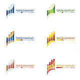 Business logo designs Royalty Free Stock Photography