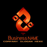 Business Logo Royalty Free Stock Photography