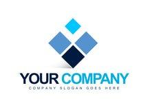 Business Logo Squares Stock Image