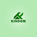 Business logo vector of the letter K. Stock Images
