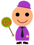 Business lollipop Royalty Free Stock Images