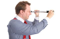Business lookout (Side view) Stock Photography