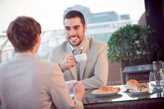 Business-Lunch Lizenzfreie Stockbilder