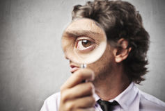 Business Magnifying Stock Photos