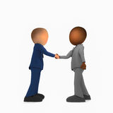 Business. Making a deal and agree Royalty Free Stock Images