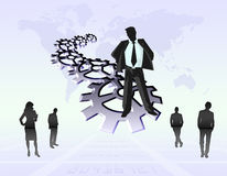 Business man (08) Royalty Free Stock Photo