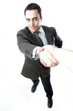 Business man. In a suit Stock Image
