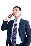 Business Man. Young Handsome Asian Business Man Royalty Free Stock Photo