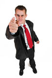 Business man #28 Royalty Free Stock Image
