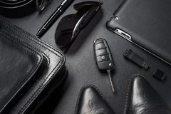 Business man accessories royalty free stock photography
