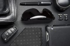 Business man accessories royalty free stock photos