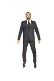 Business man in the air Royalty Free Stock Image