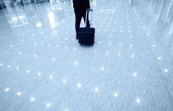 Business man at the airport Royalty Free Stock Images