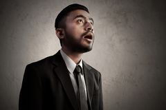 Business man amazed and astonishment. Business man amazed and astonish Royalty Free Stock Photos