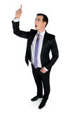 Business man angry pointing Stock Photography