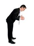 Business man angry shouting Stock Image