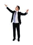 Business man argue looking up Stock Photos