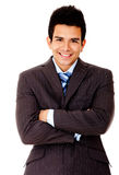 Business man with arms crossed Royalty Free Stock Image