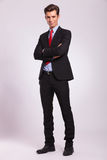 Business man with arms folded Royalty Free Stock Photo