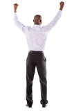 Business man with arms up Royalty Free Stock Photos
