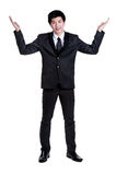 Business man Attractive  smart suit Stock Photography