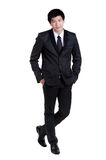 Business man Attractive  smart suit Stock Image