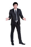 Business man Attractive  smart suit Royalty Free Stock Photography