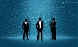 Business man. Backgrounds & Textures  Backgrounds Stock Photo