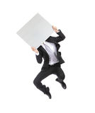 Business man billboard Royalty Free Stock Images