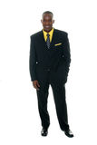 Business Man In Black Suit 5 Royalty Free Stock Image