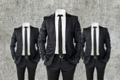 Business man in black Stock Image
