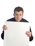 Business man blank space for writing 2 Royalty Free Stock Image