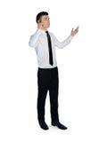 Business man call phone Royalty Free Stock Photos