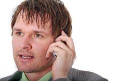 Business Man Calling Royalty Free Stock Image