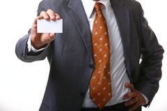 Business man card Stock Image