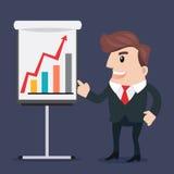 Business man cartoon Royalty Free Stock Photos