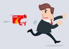 Business man cartoon Stock Photo