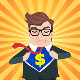 Business man cartoon royalty free illustration