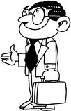 Business Man cartoon Vector Clipart Stock Photography