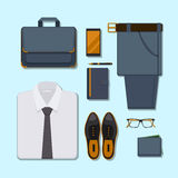 Business man casual outfit Royalty Free Stock Images