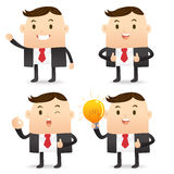Business man character Stock Images